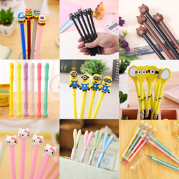 $enCountryForm.capitalKeyWord UK - 2019 Fashion Cartoon Ball Point Pen Toy Pen School Stationery set Children Gift Colorful Ostrich Ball Pen Wholesale Creative Writting Suupli