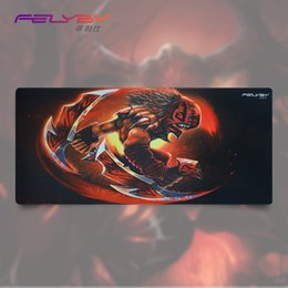 Wholesale DOTA Gaming Mouse Pad Precise Smooth mouse pad Foldable Mat For Desktop Laptop Keyboard More Thick Comfy Waterproof