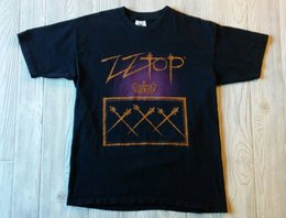 9cd409ffe8 Vintage ZZ Top XXX Tour T-Shirt Size Large Men Women Unisex Fashion tshirt  Free Shipping