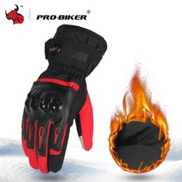 Motorcycle gloves biker online shopping - PRO BIKER Motorcycle Gloves Waterproof Windproof Winter Moto Gloves Touch Screen Gant Moto Guantes Motorbike Riding