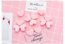 $enCountryForm.capitalKeyWord Australia - Small pink heart Clamp Clips Paper Bookmark Memo Clips photo wall decoration Decorative Photo Folder Information Storage Folder