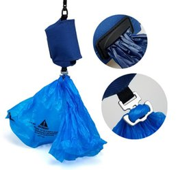 easy pet supplies UK - Easy to Carry Pet Dog Pick Up Bag Built-in Garbage Bag For Dogs To Use Outdoors Free Garbage Bag Pet Supplies 3 Colors