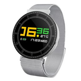 $enCountryForm.capitalKeyWord NZ - Fashion trend H1 smart watch color screen all steel design 2.5D arc screen strong light visible Milan fine steel with gift level