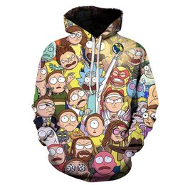 galaxy jumpers 2019 - Creative Harajuku Galaxy 3D Sweatshirts Hip Hop Men Women Hat Funny Print Crazy Scientist Loose Thin Jumper Tracksuit ch