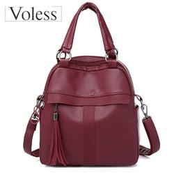 $enCountryForm.capitalKeyWord Australia - Vintage PU Leather Small Backpacks For Women Fashion Zipper Mini Back Pack Girls' Backpack Female Shoulder Bag bolsa feminina