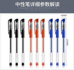 Опт Небольшие европейские стандартные нейтральные черные водяные ручки канцелярские товары