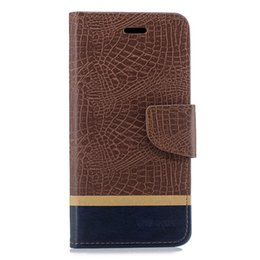 Filp Wallet Case Australia - Splice Color Wallet Case For Xiaomi POCOPHONE F1 POCO F1 Filp Cover Crocodile pattern PU Leather Mobile Phone Bags Latest fashion