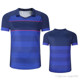 venda por atacado 2018 new badminton dos homens de tênis roupas de tênis de mesa esporte roupas definir respirável quick dry sport ternos BT1803