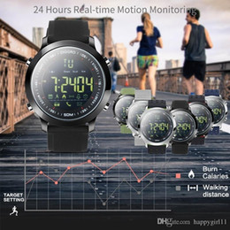 Smart Watches For Android Price Australia - Factory price Smart Watch IP68 Waterproof 5ATM Pedometer Message Reminder Long Standby Time Outdoor Sports for Android IOS e355