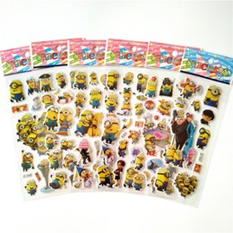 Discount anime car stickers - 100 sheets Anime Minions stickers for Laptop Motorcycle Car Styling Luggage Phone Bicycle Accessories Vinyl Decals DIY S