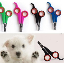 Dog Claw Cutters Australia - Hot Sale Dog Cat Pet Claw Toe Nail Stainless Steel Cutter Clipper Trimmer Grooming Scissor Shear Groomer Nailclippers Dog Cat DC039