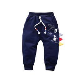Infant Baby Pant Pattern Australia - 2019 Spring Autumn Children Girls Fashion Pants Baby Cartoon Pattern Print Trousers Elastic Waist Infant Clothes For 1-4 Years