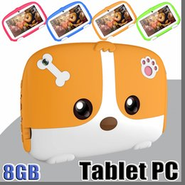 """A33 Quad Core Tablet Australia - OEM Kids Brand Tablet PC 7"""" 7 inch Quad Core children tablet Android 6.0 Allwinner A33 google player real 1GB RAM 8GB ROM with package MQ10"""