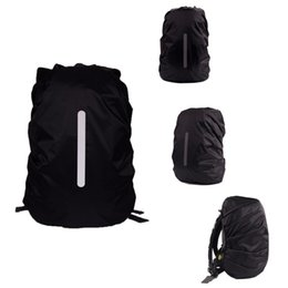 729f1e9c8046 Reflective Waterproof Backpack Dust Rain Cover Outdoor Night Safety Light  Raincover Case Bag
