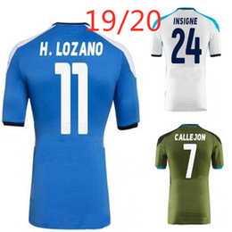top thai quality soccer jersey Australia - napoli LOZANO HAMSIK INSIGNE soccer jersey 2019 2020 MANOLAS home away third 19 20 new top thai quality A+++ football shirt