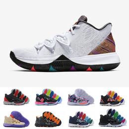 watch db340 e1eb8 (Mit Box) Kyrie 5 Neon-Mischungen Ikhet Taco BHM Black Magic Basketball- Schuhe für Herren Sneakers Sport Herren Schuh BasketBall Schuhe Größe 40-46