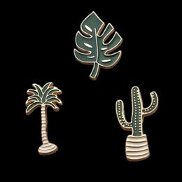$enCountryForm.capitalKeyWord NZ - IY Apparel Sewing Fabric Hoomall Metal Badges Safety Pins For Clothes Simple Badges Icons On Backpack Brooches Men Women Clothing Decora...