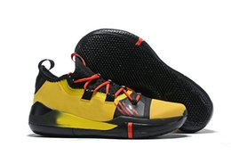 kobe men basketball shoes Australia - Kobe AD Basketball Shoes For Men Sneakers 2019 Designer Kobe Bryant Sail Black Multi Color Mens Basketball Shoes Size 40-46