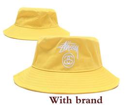 00fc7a89 Mens black briM hat online shopping - Designer Leather Bucket Hat For Mens  Womens Foldable Fishing