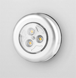 $enCountryForm.capitalKeyWord Australia - Multifunction 3 LED Closet Under Cabinet Lamp Battery Powered Wireless Touch Switch Kitchen Wall Car Night Light for Car Boot Travel