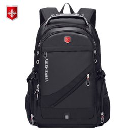 $enCountryForm.capitalKeyWord Australia - Oxford Swiss 17 Inch Laptop Backpack Men USB Charging Waterproof Travel Backpack Women Rucksack Male Vintage School Bag mochila