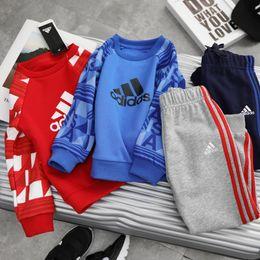 Brand dhl clothing online shopping - AD Brand Clothes Sets Newborn Girls Boys Autumn Children Clothing Sets Kids Tracksuits Clothing Set Suit Baby coats pants Sets DHL X40