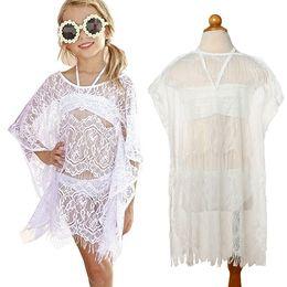 dba11e4048 Toddler Kid Baby Girl Beach Clothes Set 3PCS Summer Baby Girl Lace Cover-Up  Dress+Bikini Set Girl Swimwear Beachwear Swimsuit JY299