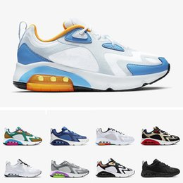 track flats Canada - New Arrival Designer Running Shoes 200 Mystic Green Men 200s Cool Grey University Blue 2000 World Stage Track Field Air Sneakers Shoes