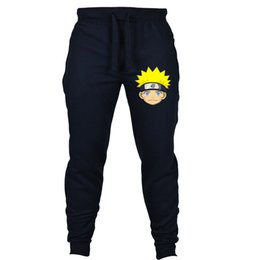 Discount animal cosplay japan - Japan anime Naruto pants Akatsuki Casual Pants Summer Sweat Pockets Cartoon Cosplay Jogger Fitness ankle Length Trousers