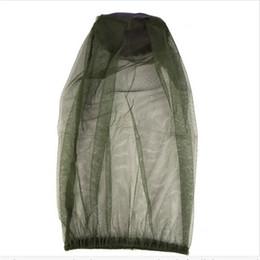 Net mesh mask online shopping - Mesh Cloth Fishing Cap Pest Control Camp Mosquito Helmet Sunscreen Ventilation Hat Sunshade Mask Outdoors Sleeve Head Mosquito Net ytb1