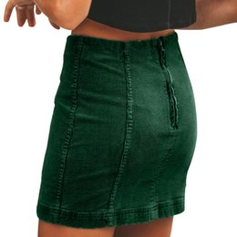 5b06c497e72a Black corduroy skirt online shopping - Women s Corduroy Zipper High Waist  Party Pencil Short Mini