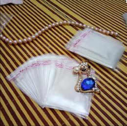 $enCountryForm.capitalKeyWord Australia - Hot Sale 12cmx19cm OPP Transparent Jewelry package Bag Self Adhesive Seal Plastic Bags Clear Cellophane Bag Gift package Bag