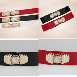 Discount vintage elastic belt - Vintage Women Girdle Elastic Bohemian Belt Alloy Decorative Waist Seal Classical Modern Retro Dress Coat Decor 6 5cy D1