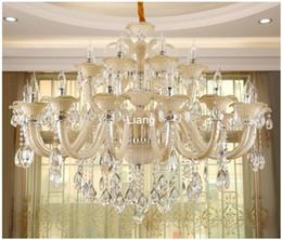 $enCountryForm.capitalKeyWord Australia - Free Shipping Modern Crystal Chandelier European White Crystal Chandelier 24arm Optional Lustres De Cristal Chandelier Lighting