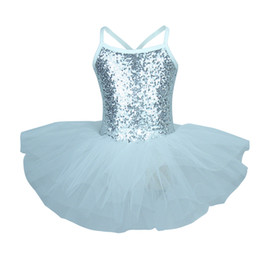 Discount golden dresses for girls - New Golden Ballerina Costume Sequins Ballet Dress Girls Dance Wear Tutu Ballet Leotard for Kids and Toddlers