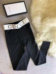 Design Brand Lettera G Leggings sexy da donna Sport Girl Skinny Stretchy Pants Vendita calda tight Fit Elastic Slim Fitness Matita Trous in Offerta