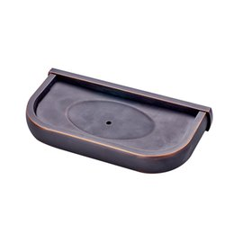 metal stables Australia - MADICA 21*10.5*4cm Soap Dishes For Shower Room Bronze Metal Copper Nail Solid Soap Box Vintage Brass Stable Soap Holder