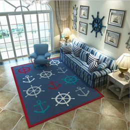 AreA rug styles online shopping - Creative Mediterranean Style Orignal Design Large Carpets For Living Room Bedroom Carpet Home Mat Area Rug Kid Room Rugs Floor