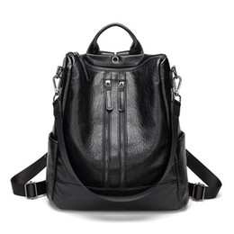 Cross bow sales online shopping - 2019 Hot Sale Women Backpacks Female Fashion Girl Daily Backpack School Bags Solid Color Backpacks For Teenager Girls Women Bags