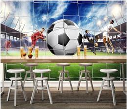 $enCountryForm.capitalKeyWord Australia - WDBH 3d wallpaper custom photo Modern football stadium tv background painting living room home decor 3d wall murals wallpaper for walls 3 d