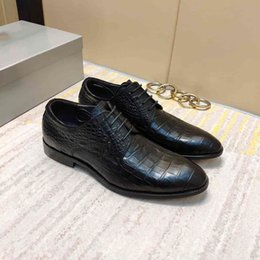 best designers dresses Australia - Best designer leather wear-resistant fashion dress shoes star with the same wedding work men's business shoes 38-44