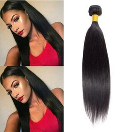 $enCountryForm.capitalKeyWord Australia - 8A Virgin Peruvian Straight Weave Hair Bundles 100% Unprocessed Human Hair Extension Peruvian Straight Hair Bundles machine double weft
