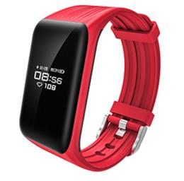 K1 Pulsera inteligente Monitor de ritmo cardíaco en tiempo real Rastreador de ejercicios IP68 Impermeable Bluetooth Pulsera Pasómetro Fit bit para iOS Android en venta