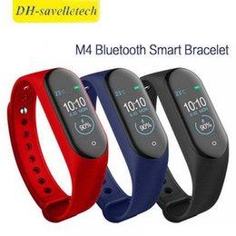 $enCountryForm.capitalKeyWord Australia - Intelligent Watch M4 Smart Bracelet Heart Rate Monitor Calories Waterproof IP67 Smart Band Fashion Watch Sport for iOS Android