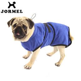 $enCountryForm.capitalKeyWord Australia - JORMEL 2018 Pet Supplies Dog Bathrobe Warm Dog Clothes Super Absorbent Drying Towel for Teddy Bath Towel