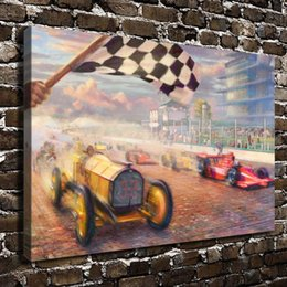 painting racing Australia - A Century of Racing,Home Decor HD Printed Modern Art Painting on Canvas (Unframed Framed)
