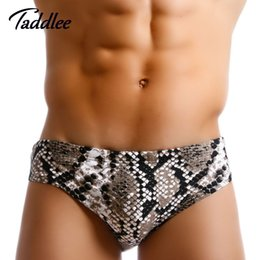 $enCountryForm.capitalKeyWord Australia - Taddlee Brand Sexy Men Swimwear Swimsuits Swim Briefs Bikini Pad Inside Enhance Frontal Pocket Gay Penis Pouch Surfing Trunks J190715