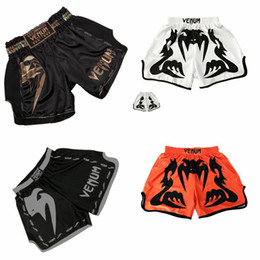 blue mma fight shorts 2019 - Rashguard Mma Shorts Kick Boxing Muay Thai Printed Boxing Shorts Boxe Thai Short Mma Kickboxing Training Fight Wear Kick