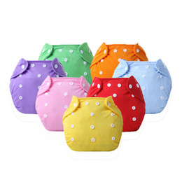nappies covered Australia - Eco-Friendly Cloth Diaper Adjustable Reusable Nappy Baby Boys Girls Soft Covers Infant Washable Nappies for 0-2 years 3-15 kg