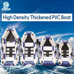 venda por atacado barco inflável 0,9 mm de PVC barco de pesca 3 camada laminada Remo borracha caiaque Ar resistente ao desgaste para pesca desportiva externas